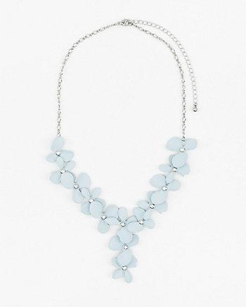 Floral Y-Necklace