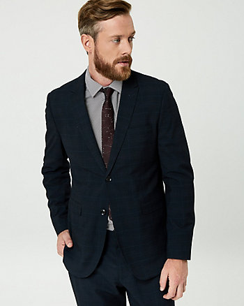 Glen Check Contemporary Fit Blazer
