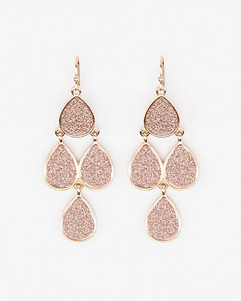 Glitter Chandelier Earrings