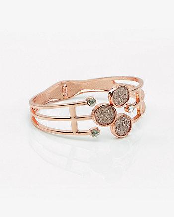 Glitter Hinge Bracelet