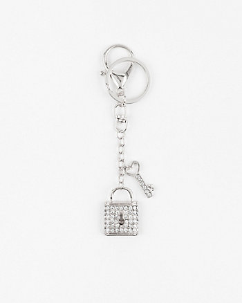 Key & Lock Bag Charm
