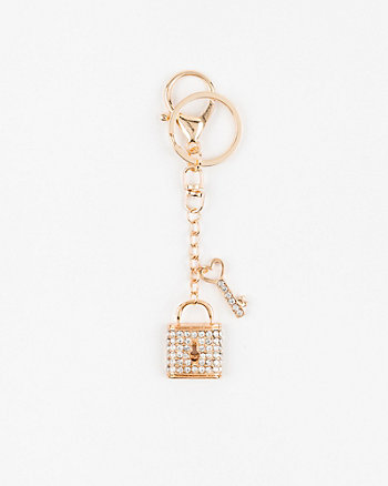 Key & Lock Bag Charm