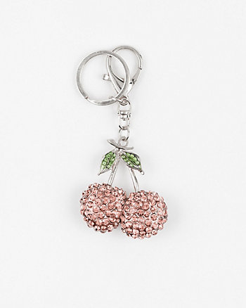 Cherry-Shaped Bag Charm