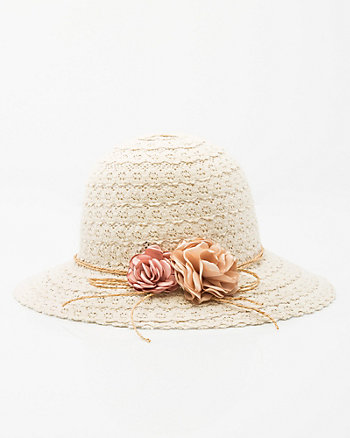 Lace Cloche Hat