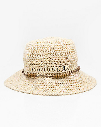 Macramé Bucket Hat