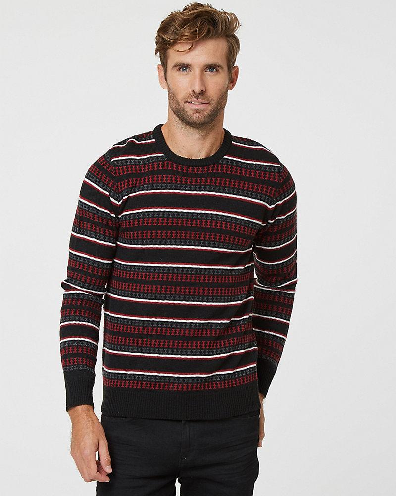 6e67fc738 Fair Isle Crew Neck Sweater