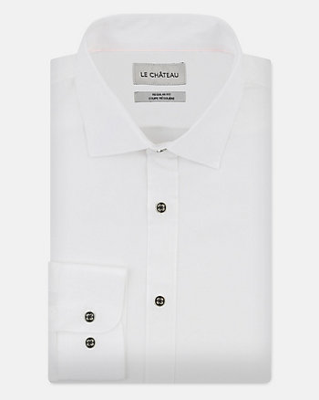 Stretch Poplin Regular Fit Shirt