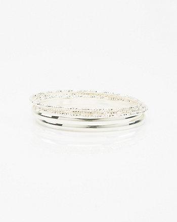 Set of Five Bangle Bracelets
