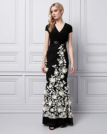 3D Floral Gown