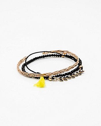 Set of Three Stretch Bracelets