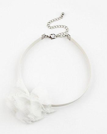 Floral Choker Necklace