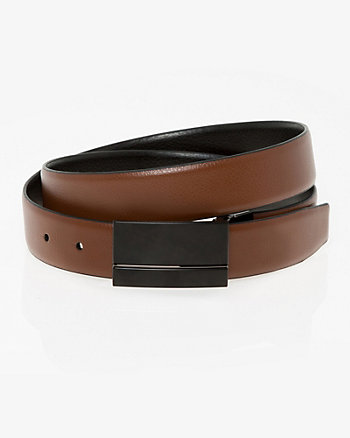 Reversible Split Leather Belt