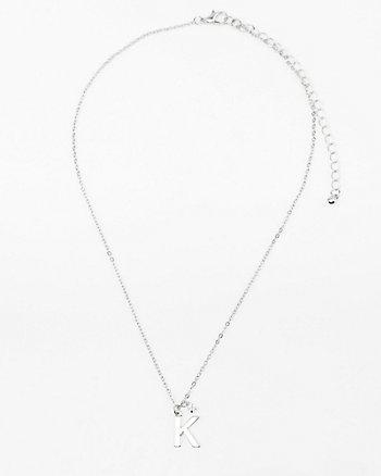 Initial Pendant Necklace (A-M)