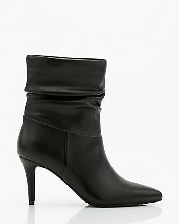 Pointy Toe Slouch Boot