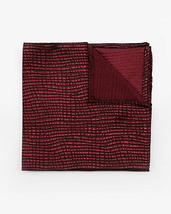 Two-Tone Silk Pocket Square
