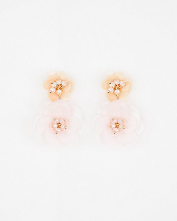 Floral Sequin Earrings