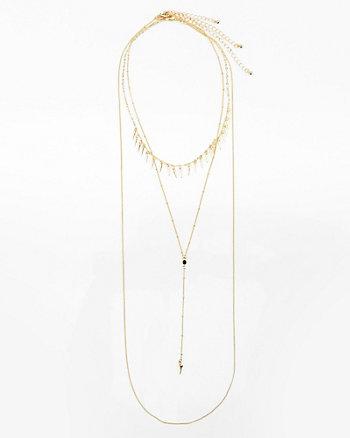 Set of Three Y-Necklaces