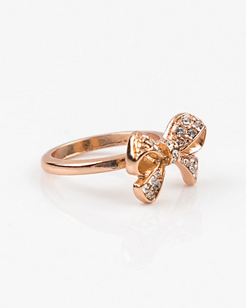 Bow Gem Ring