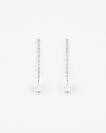 Pearl-Like Drop Earrings