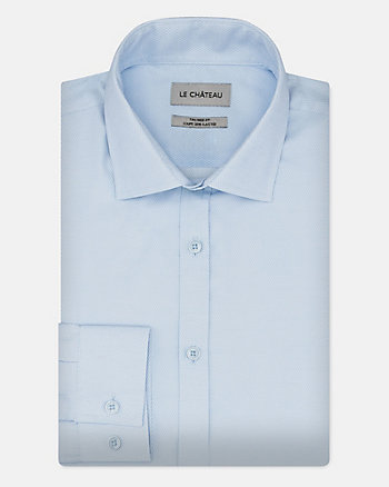Cotton Blend Regular Fit Shirt