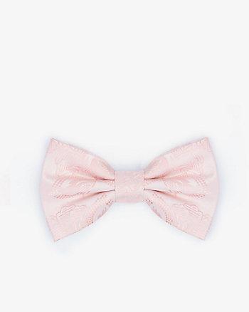 Floral Print Microfibre Bow Tie