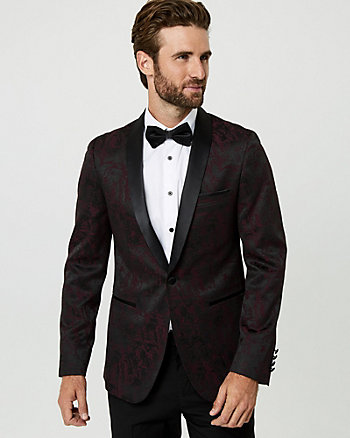 Jacquard Slim Fit Blazer