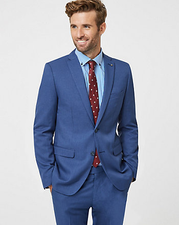 Slim Fit Notch Collar Blazer