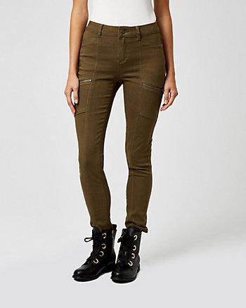 Twill Skinny Leg Cargo Pant