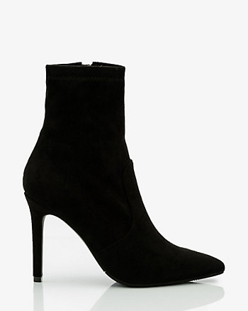Stretch Pointy Toe Sock Boot