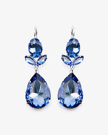 Teardrop Gem Earrings