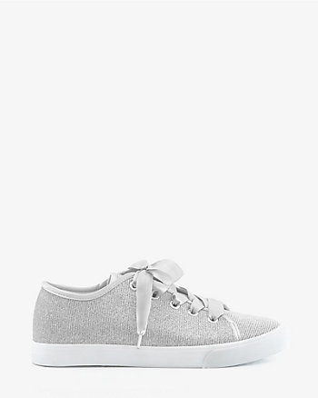 Glitter Lace-Up Sneaker