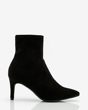 Pointy Toe Sock Boot