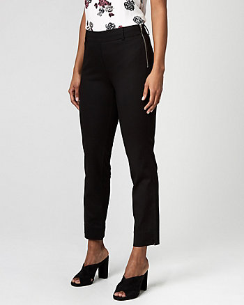 Pull-On Stretch Slim Leg Pants