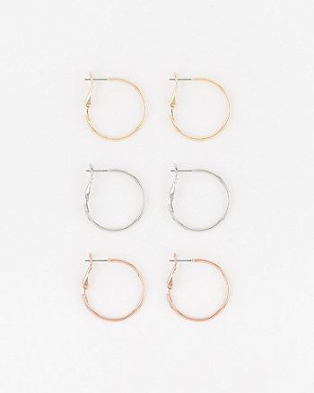 Set of Hoop Earrings