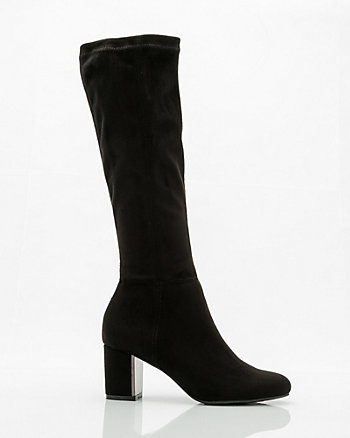 Electroplated Knee-High Boot
