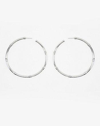 67mm Metal Hoop Earrings