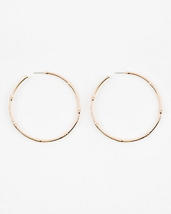 67mm Metal Hoop Earrings