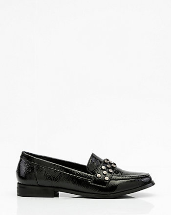 Studded Patent Loafer