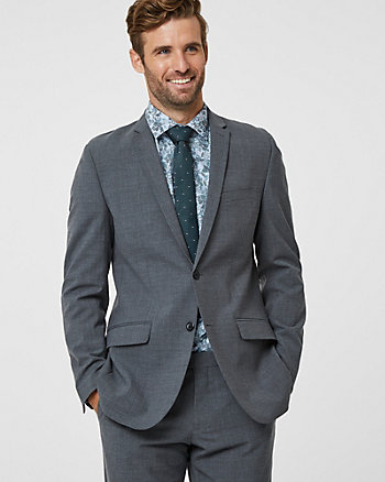 Tropical Wool Contemporary Fit Blazer