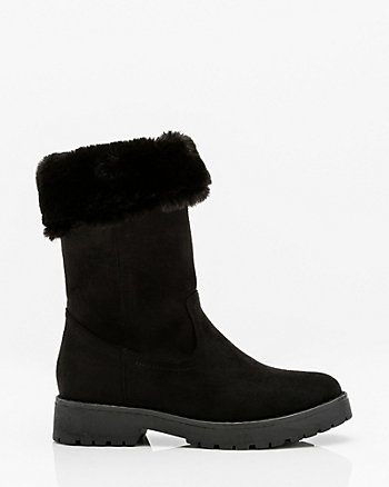 Mid Calf Winter Boot