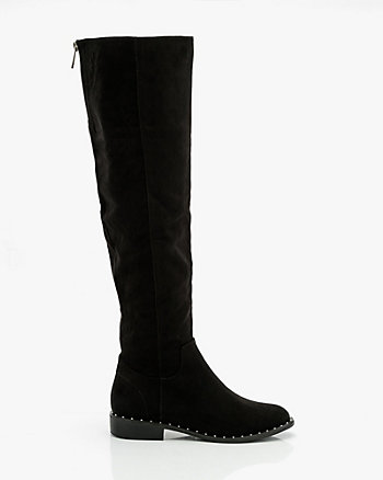 Studded Over-the-Knee Boot