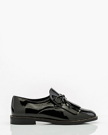 Patent Round Toe Loafer