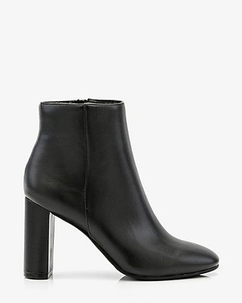 Round Toe Ankle Boot