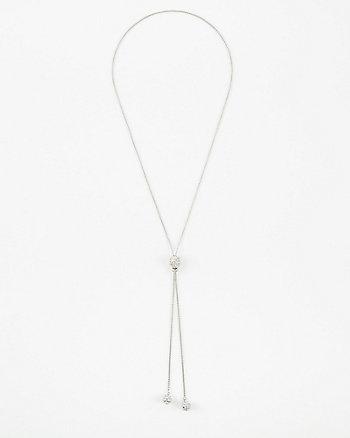 Gem Slider Necklace
