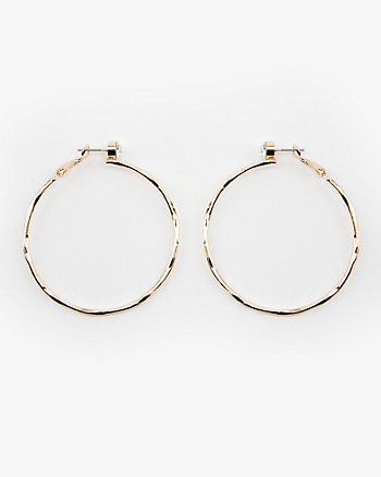 55.5mm Jewel Embellished Hoop Earrings