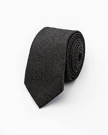 Tonal Cotton Blend Tie