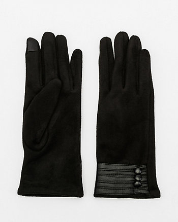 Suede-like Touchscreen Gloves