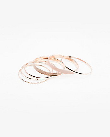 Set of Six Bangle Bracelets