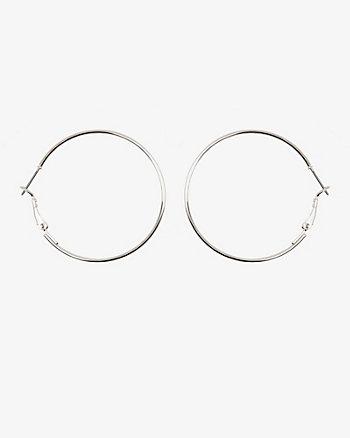 30mm Metal Hoop Earrings