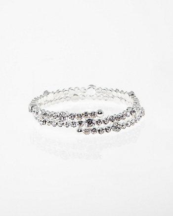 Gem Coil Bracelet